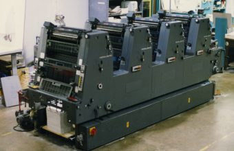 The old Heidelberg 4 color